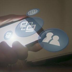 redes sociales mantenimiento web